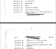A selection of the transcript from the Apollo 11 flight.