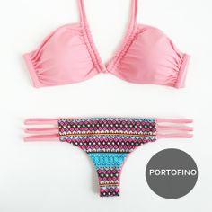 "Meet ""PORTOFINOI"" a U-Ring Top with Reversible Brazilian-Cut Bikini Bottom <3 FREE WORLDWIDE SHIPPING ON ALL ORDERS"