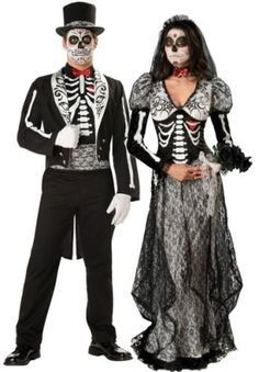 Costumes for Day of the Dead