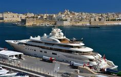 Helicopter hangars on yachts are latest super rich indulgence