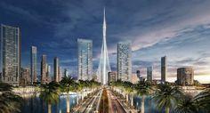 Torre Dubai Creek Harbour. Arquitectura de Santiago Calatrava en Dubai