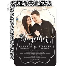 Framed Together Wedding Invitations