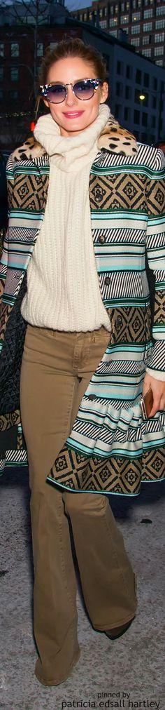 Olivia Palermo looking amazing in Her Fendi sunglasses