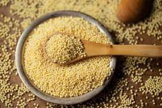 Why settle for quinoa when you can have millet? Find out why you should add this ancient seed to your diet. Millet Flour, How To Cook Millet, Savory Salads, Grain Bowl, Gluten Free Grains, Food Staples, Flour Recipes, Eating Raw, Diets