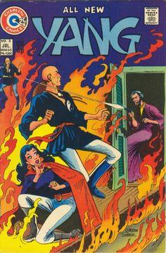 Yang, Charlton Comics.