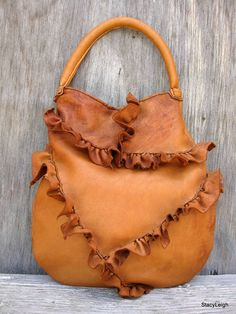 Elkskin Bag from StacyLeigh on Etsy    http://www.etsy.com/listing/99473085/rustic-lovers-only-elkskin-leather-bag