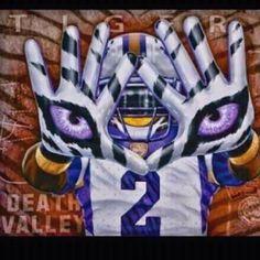 LSU Football Canvas, Lsu Tigers Football, Saints Football, Football Art, College Football, Louisiana History, Louisiana Art, Louisiana State University, Death Valley Lsu