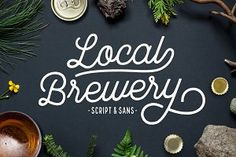 Local Brewery Script + Sans