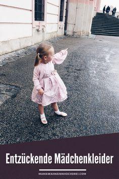 Entzückende Mädchenkleider - Kleider für Mädchen für besondere Anlässe toll kombiniert.