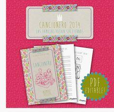 Cancionero 2014 | PDF Editable!