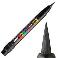 caneta posca ponta de pincel