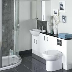 small bathroom tile ideas grey