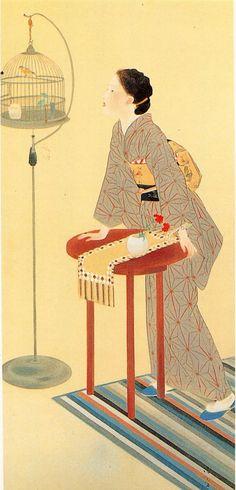 Roller Canary(1933)  Kiyokata Kaburaki