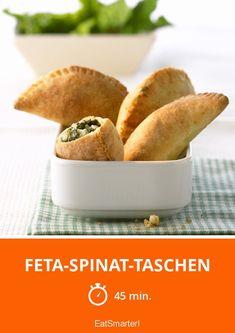 Feta-Spinat-Taschen