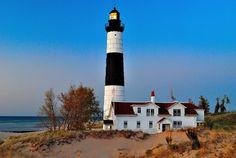 Big Sable Point, Ludington, Michigan