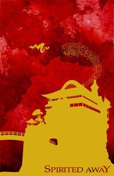 Spirited Away davidcharlesfoxexpressionism.com #studioghibli #hayaomiyazaki #japaneseanimation #anime
