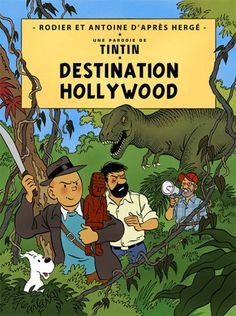 Más portadas alternativas de Tintín: desde Hollywood, hasta una pesadilla después de Navidad.   Después de una primera tanda de portadas im...