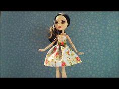 Como fazer Saia Uniforme Escolar RBD para bonecas how to make a skirt for dolls - YouTube