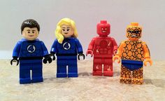 Lego Fantastic Four Minifigures by mikenap on Etsy, $100.00