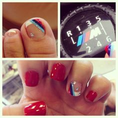 M3 BMW LOGO FOR MY NAILS by Silvia Zapata**...<3