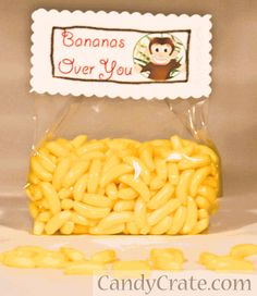 Valentine's Day Classroom Candy Idea - Bananas Over You