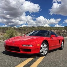 Partly cloudy, perfectly classic. #NSX #AcuraStoriesCredit: @tysonhugie