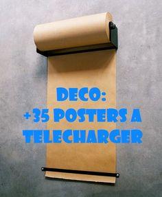 Plus de 35 posters vintage, funky et colorés à télécharger: Le plus dur ça va être de choisir... Funky Sunday: +35 Free Printables for your walls!  DIY, Déco Maison, Home sweet Home, How to, Scrapbooking, style