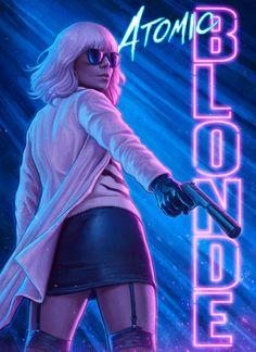 Atomic Blonde (2017) | #CharlizeTheron #JamesMvAvoy #JohnGoodman #SofiaBoutella | by Yannick Bouchard