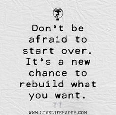 I have always loved new starts. Possibilities.