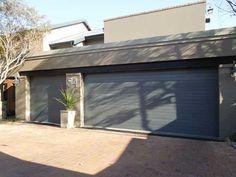Zinc-Alum Steel Horizontal Slatted Doors Our steel sectional doorsare made from superior graded 0 & Garage Door Sales and Installation South Africa | Krazi Doors Alu ...
