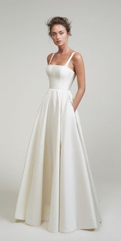 Lihi Hod Wedding Dresses white wedding dress in white. This best image collections about Lihi Hod Wedding Dresses white wedding dress in white is available to d Wedding Dress Black, Cute Wedding Dress, White Wedding Dresses, Bridal Dresses, Gown Wedding, Modest Wedding, Backless Wedding, Lace Wedding, Wedding Stage
