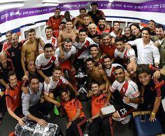 """""""Felicitaciones muchachos!! ⚪⚪ #VamosRiver"""""""