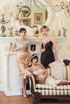 Great Gatsby Glamourous Editorial Photo shoot photography by Pink Ellie Photography in Macon, GA. and yet another for my beautiful daughter. Great Gatsby Outfits, Great Gatsby Theme, Gatsby Themed Party, Great Gatsby Fashion, 20s Fashion, Vintage Fashion, Classic Fashion, Gatsby Look, Gatsby Style