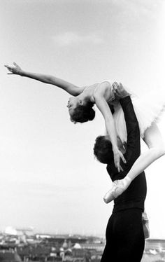 I think pictures like these make every girl wish they had stuck with ballet when they were little...