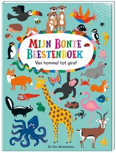 Spetterend kartonboek over dieren