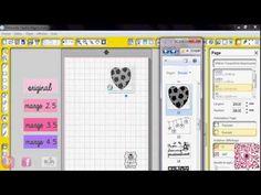 ▶ Découpe de contours de tampons à la Silhouette Débutants (1e partie) - YouTube
