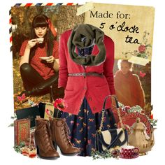 """Made for: 5 O'clock tea"" by flora on Polyvore"