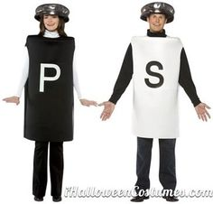 salt pepper shakers halloween costume ideas for couples - Halloween Costumes 2013
