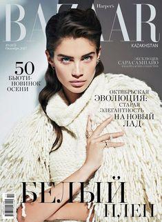 Сара Сампайо в Harper's Bazaar Kazakhstan (Интернет-журнал ETODAY)