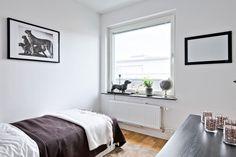 #styling #homestyling #sovrum #bedroom Homestyling av hörnlägenhet med terrass | Move2
