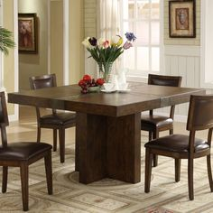 Square Dining Table.  Would like to have 3 tables something like this to put end to end for family dinners and use elsewhere the rest of the time.