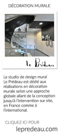 Le studio de design mural Le Prédeau est dédié aux réalisations en décoration…