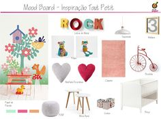 Concept Board  Inspiration Eijffinger for Kids
