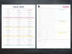 Deluxe homeschool planner #homeschool #planner #kids