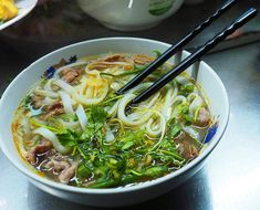 A pho served in a Vietnamese restaurant Coriander Cilantro, Coriander Seeds, Fennel Seeds, Vietnamese Pho, Vietnamese Restaurant, Other Recipes, Great Recipes, Pho Spices, How To Make Pho