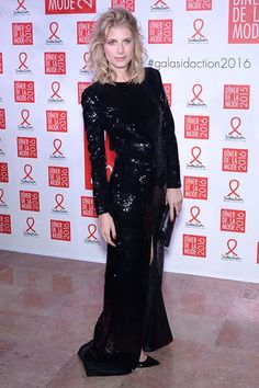 Mélanie Laurent - Sidaction Gala Dinner in Paris - January 28, 2016 #PFW