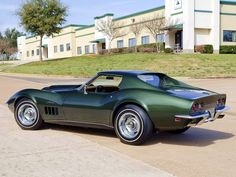 1969 427 C3 coupe… in Fathom Green