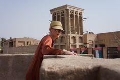 Tilda Swinton in Dubai by Amanda Harlech.