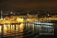 """Night Lights of Barcelona"" by Carol Groenen  #spain #barcelona #europe  www.carolgroenenphotography.com"