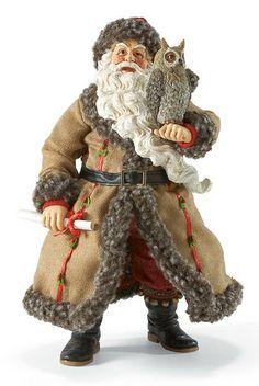 vintage santa claus figurines - Google Search